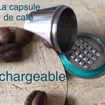 Capsule rechargeable compatible Nespresso